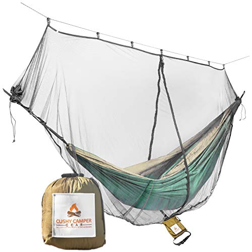 Perfect Accessory for Your Hammocks Guardian Mosquito Net for Bugs Gold Armour Hammock Bug Net No See Um and Insects Best Premium Quality Mesh Netting